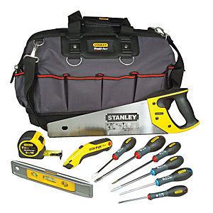 Stanley FatMax 9 Piece Toolkit & Bag