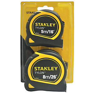 Stanley Tape Measure Twin Pack