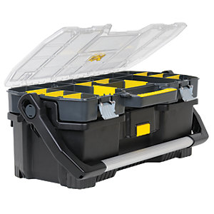 Stanley 197514 Toolbox With Tool Tote & Organiser 24in