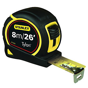 Stanley Tylon Tape Measure 8m