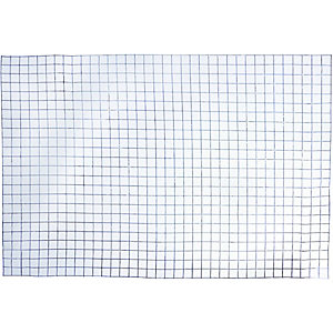 Wickes 25mm Galvanised Mesh Panel 600mmx900mm