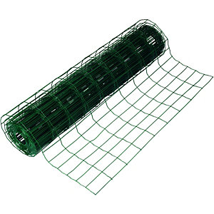 Wickes Garden Wire Fencing 0.9mx10m PVC Coated