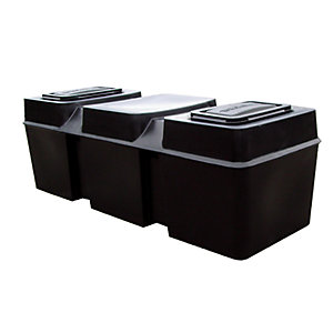 Ferham Cold Water Coffin Tank 25 Gal