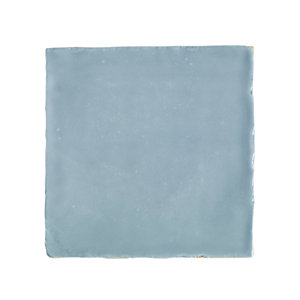 Wickes Cotswold Aqua Ceramic Wall Tile 100x100mm