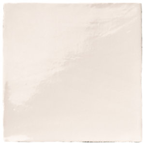 Wickes Cotswold Bianco Ceramic Wall Tile 100x100mm