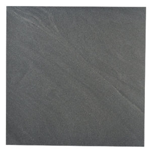 Wickes Arkesia Graphite Polished Porcelain Floor Tile 600x600mm