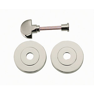 Wickes Thumbturn & Release Satin Nickel Finish 52mm