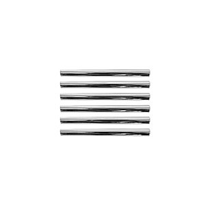 Wickes T Bar Handles Polished Chrome 135mm 6 Pack