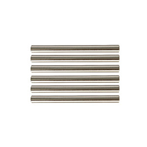 Wickes T Bar Handles Brushed Nickel Finish 135mm 6 Pack