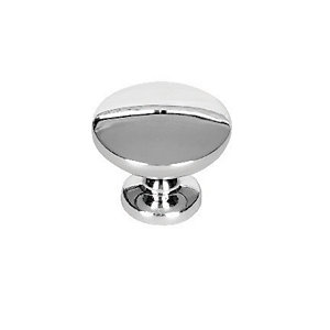 Wickes Victorian Knobs Polished Chrome Finish 30mm 6 Pack
