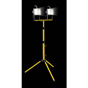 Wickes 400W Twin Telescopic Floodlight
