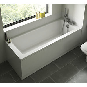 Wickes Lesina Single Ended Bath 1700mm