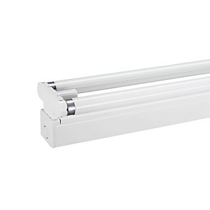 Wickes 5ft 58W Switch Start Twin Fluorescent Fitting & Tube