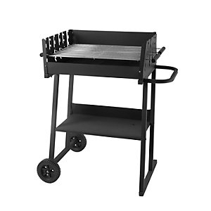 Rectangular 82cm Charcoal Party BBQ