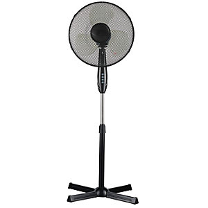"Wickes 16"" Oscillating Pedestal Fan"