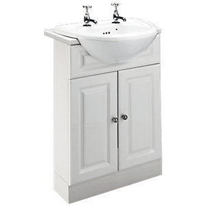 Wickes Toulouse Slimline Vanity Unit 600mm