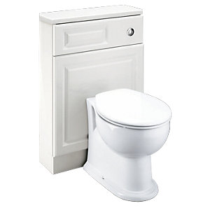 Wickes Toulouse Slimline WC Unit 600mm