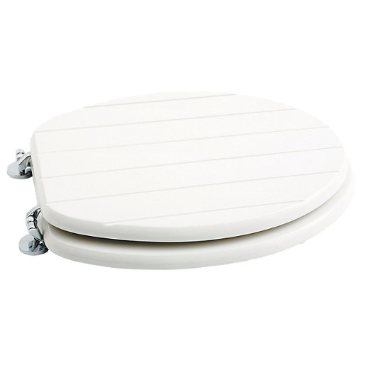 wooden white toilet seat. Wickes White Wood Tongue Groove Toilet Seat Wooden  Home Design Mannahatta us