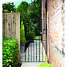 Wickes Chelsea Bow Top Black Metal Gate 1790 x 775mm