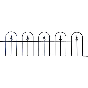 Wickes Kensington Wall Railing 510 x 1830mm