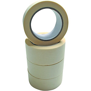 Wickes Masking Tape 48mmx50m 4 Pack