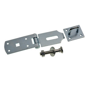 Wickes Heavy Duty Hasp & Staple Galvanised 203mm