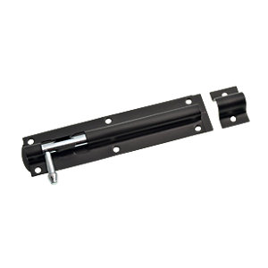 Wickes Tower Bolt Black 152mm