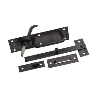 Wickes Suffolk Gate Latch Black