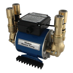 Wickes Twin Impeller Shower Pump 3 Bar