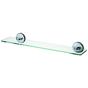 Wickes Boston Glass Shelf 500mm