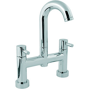 Wickes Rayo Bath Filler Tap Chrome