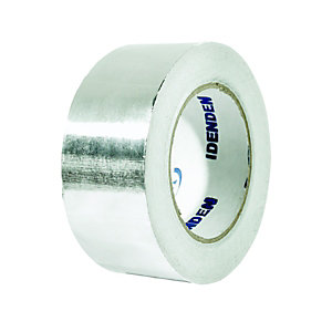 Wickes Self Adhesive Foil Tape 50mm x 45m