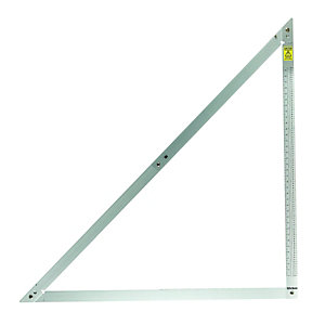 Wickes Aluminium General Purpose Folding Square 1200mm