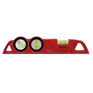 Wickes Professional Spirit Level 250mm