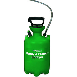 Wickes Spray & Protect Pressure Sprayer 5L Capacity