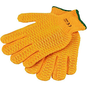 Wickes/Safety & Workwear/Workwear/Wickes Grippa Gloves Orange One Size