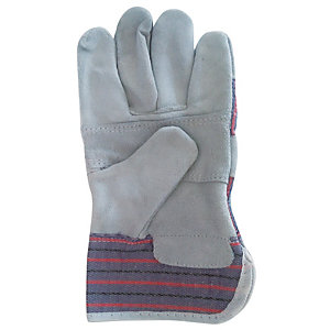Wickes/Safety & Workwear/Workwear/Wickes Standard Rigger Gloves Grey One Size