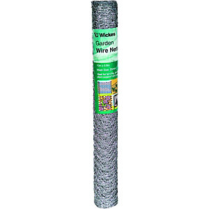 Wickes 25mm Wire Netting Galvanised 600m x 10m
