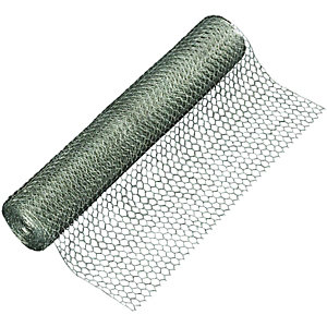 Wickes 13mm Wire Netting 600mm x 10m