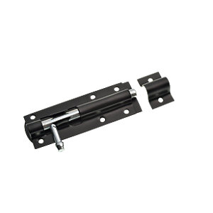 Wickes Tower Bolt Black 100mm