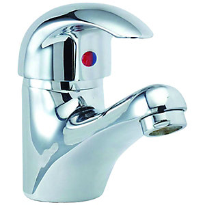 Wickes Rhine Mono Basin Mixer Tap Chrome