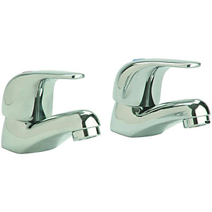 Wickes Rhine Basin Taps Chrome