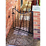 Wickes Windsor Black Metal Gate 925x914mm