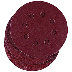Wickes Assorted Eccentric Sander Discs Pack 25