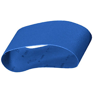 Wickes Coarse Blue Belt Sander Sheets 75x533mm PK3