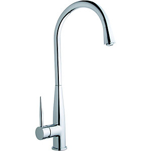 Wickes Desna Mono Mixer Kitchen Sink Tap Chrome