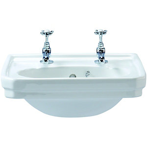 Wickes Hamilton Cloakroom Basin 500mm