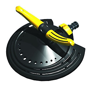 Wickes Twin Arm Rotating Garden Hose Sprinkler