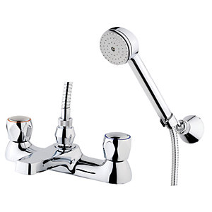 Wickes Trade Bath Shower Mixer Chrome