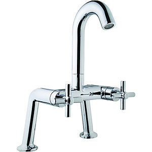 Wickes Anvil Bath Filler Tap Chrome